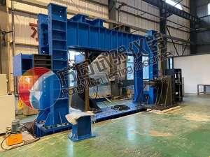 崇州市大型土工模型槽动力加载试验系统